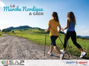 Sessions de marche nordique à Caen par SAP