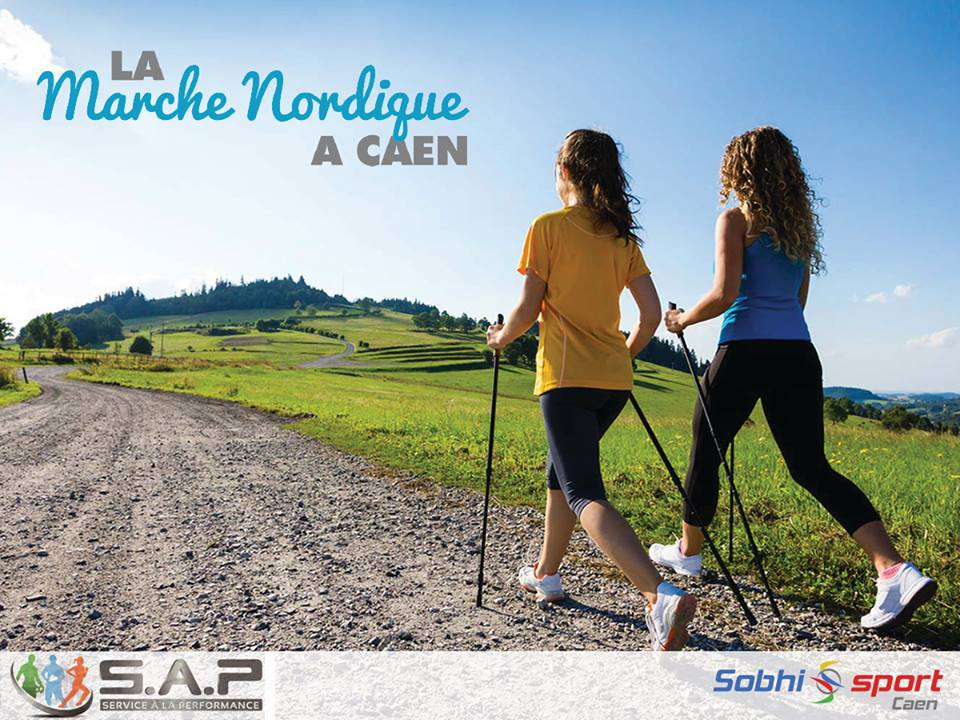 Sessions de marche nordique à Caen par SAP
